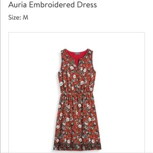 Market & Spruce Auria Embroidered Dress, Size M